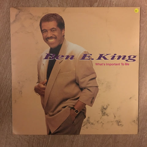 Ben E King - What's Important To Me - Vinyl LP Opened - Near Mint Condition (NM)