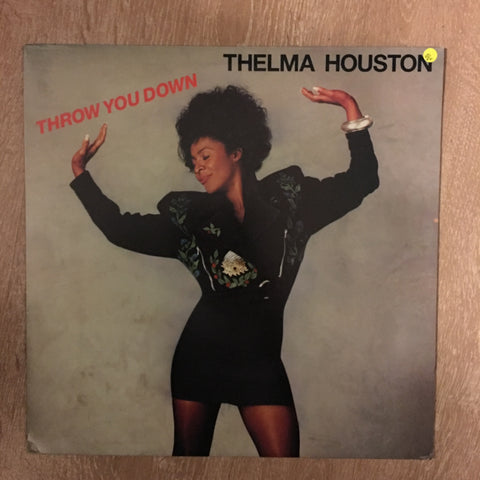 Thelma Houston - Throw You Down -  Vinyl -  Vinyl LP Record - Opened  - Very-Good+ Quality (VG+)
