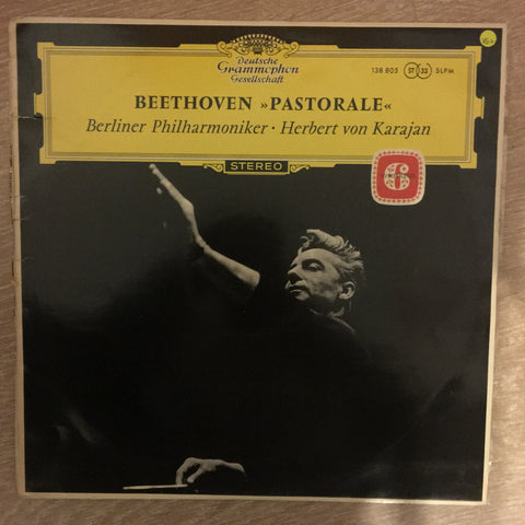 Beethoven Pastoral Herbert Von Karajan Berlin Philharmonic  ‎- Vinyl LP Record - Opened  - Very-Good+ Quality (VG+)
