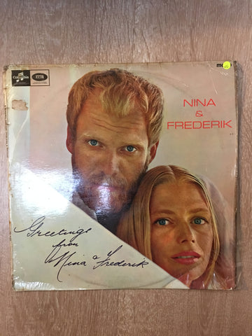 Nina and Frederik - Vinyl LP Record - Opened  - Very Good Quality (VG) - C-Plan Audio