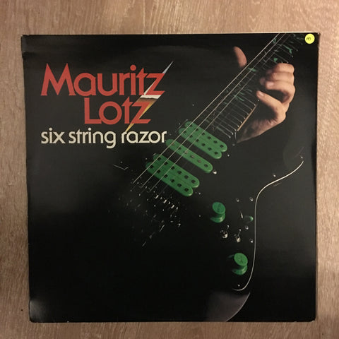Mauritz Lotz - Six String Razor - Vinyl LP Opened - Near Mint Condition (NM) - C-Plan Audio
