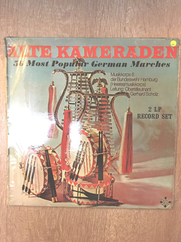 Alte Kamerdan - 36 Most Popular German Marches - Double Vinyl LP Record - Opened  - Good Quality (G)