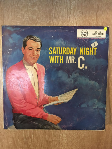 Perry Como - Saturday Night with Mr C - Vinyl LP Record - Opened  - Good Quality (G) - C-Plan Audio