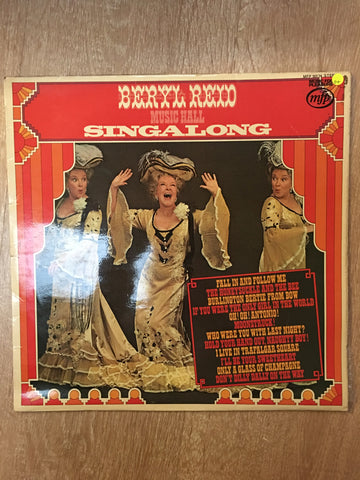 Beryl Reid - Music Hall Signalong - Vinyl LP Record - Opened  - Good Quality (G) - C-Plan Audio