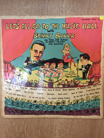 Benny Baker  - Let's all Go to the Music Hall - Vinyl LP Record - Opened  - Good Quality (G) - C-Plan Audio