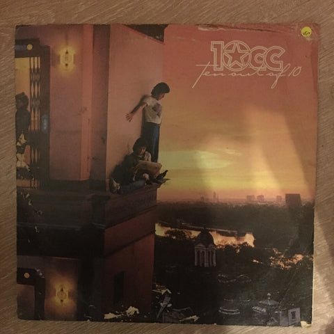 10cc ‎– Ten Out Of 10 ‎- Vinyl LP Record - Opened  - Very-Good+ Quality (VG+)