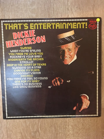 Dickie Henderson - That's Entertainment - Vinyl LP Record - Opened  - Very-Good Quality (VG)