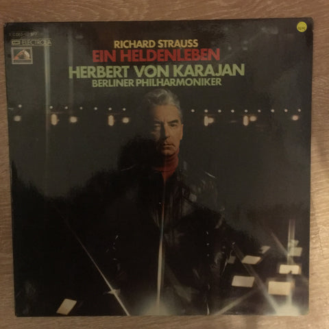 Richard Strauss - Berliner Philharmoniker, Herbert von Karajan ‎– Ein Heldenleben Vinyl Opened - Near Mint Condition