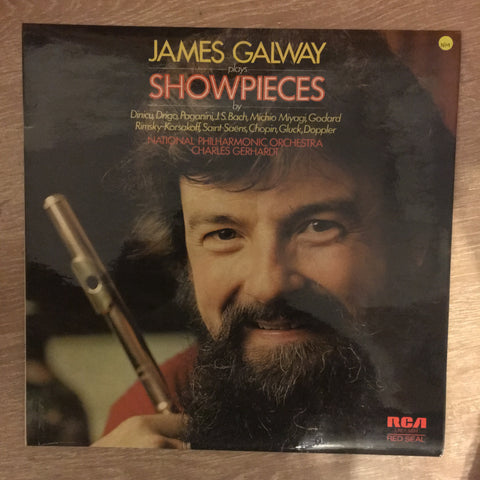 James Galway - Showpieces   - Vinyl LP - Opened  - Very-Good+ Quality (VG+)