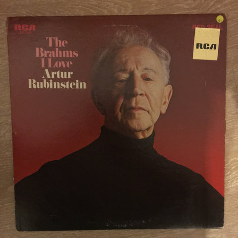 Arthur Rubinstein ‎– The Brahms I Love - Opened Vinyl LP Record - Very-Good+ (VG+) - C-Plan Audio
