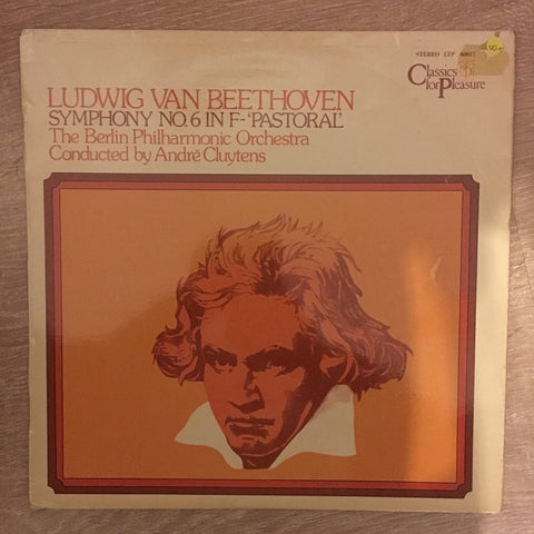 Beethoven, André Cluytens, The Berlin Philharmonic Orchestra ‎– Symphony No.6 In F - 'Pastoral' ‎– Vinyl LP Record - Opened  - Very-Good+ Quality (VG+)