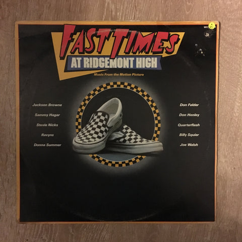 Various - Fast Times At Ridgemont High - Vinyl LP Record - Opened  - Very-Good Quality (VG) - C-Plan Audio
