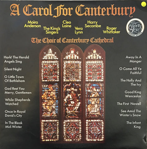A Carol for Canterbury - Vinyl LP Record - Opened  - Very-Good Quality (VG)
