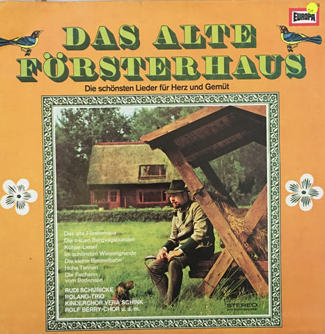 Various ‎– Das Alte Forsterhaus - Vinyl LP Record - Opened  - Good+ Quality (G+)