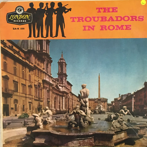 The Troubadours in Rome - Vinyl LP Record - Opened  - Good+ Quality (G+)