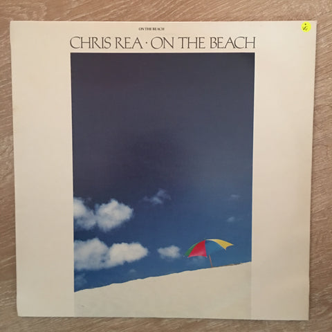 Chris Rea - On The Beach - Vinyl LP - Opened  - Very-Good Quality (VG)
