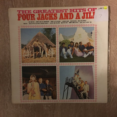 The Greatest Hits of Four Jacks and A Jill - Vinyl LP Record - Opened  - Very-Good+ Quality (VG+) - C-Plan Audio
