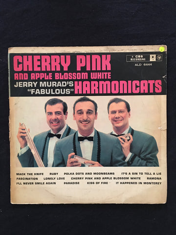 Jerry Murad's Harmonicats - Cherry Pink and Apple Blossonm White - Vinyl LP Record - Opened  - Good Quality (G) - C-Plan Audio
