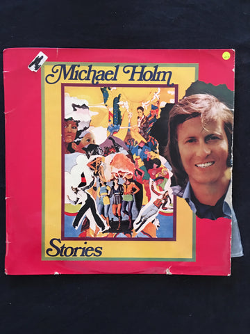 Michael Holm - Stories - Vinyl LP - Opened  - Very-Good+ Quality (VG+) - C-Plan Audio