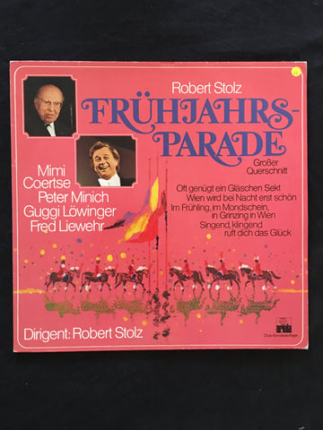 Robert Stolz - Fruhjahrs Parade -  Vinyl LP Record - Opened  - Very-Good Quality (VG) - C-Plan Audio