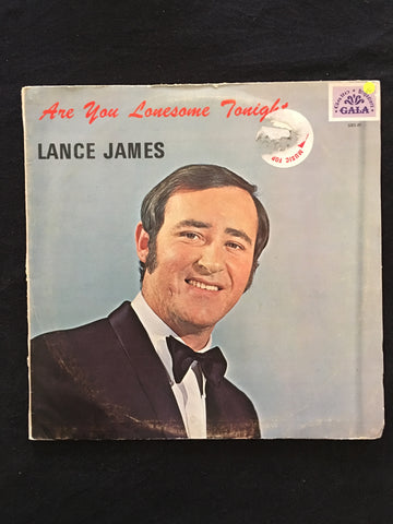 Lance James - Are You Lonesome Tonight -  Vinyl LP Record - Opened  - Very-Good Quality (VG) - C-Plan Audio