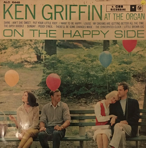 Ken Griffin - On The Happy Side - Vinyl LP Record - Opened  - Very-Good- Quality (VG-)
