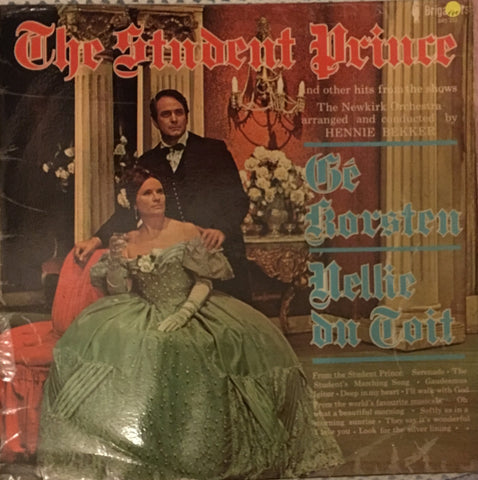 Ge Korsten - The Student Prince - Vinyl LP - Opened  - Very-Good+ Quality (VG+)