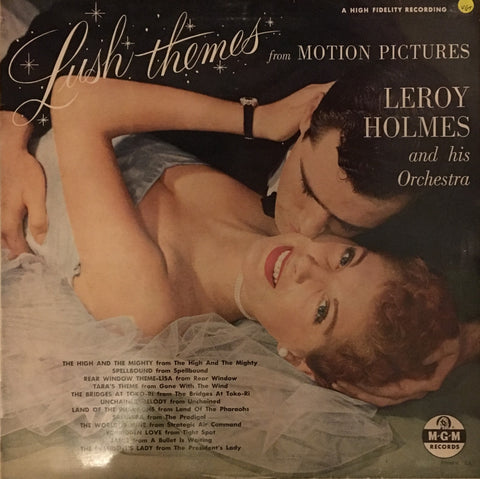 LeRoy Holmes Orchestra ‎– Lush Themes From Motion Pictures - Vinyl LP - Opened  - Very-Good+ Quality (VG+)