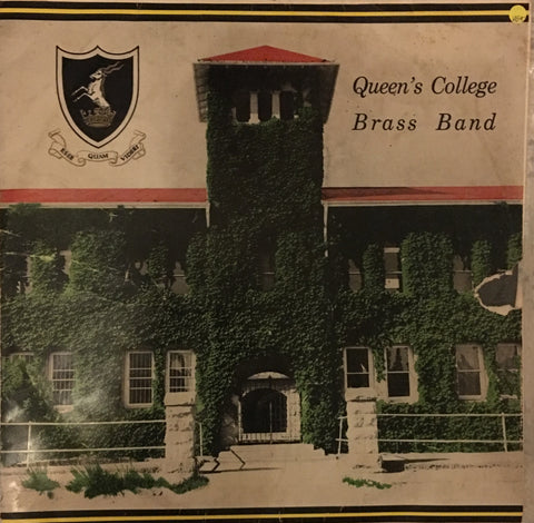 Queen's College Brass Band - Vinyl LP - Opened  - Very-Good+ Quality (VG+) - C-Plan Audio