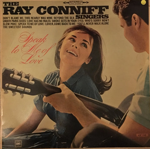 Ray Conniff - Speak To Me Of Love - Vinyl LP - Opened  - Very-Good+ Quality (VG+)
