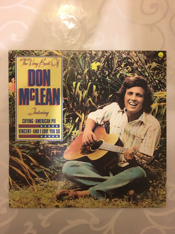 Don McLean ‎– The Very Best Of Don McLean  - Vinyl LP - Opened  - Very-Good+ Quality (VG+) - C-Plan Audio