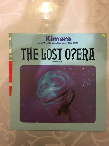 Kimera - The Lost Opera - Search One - Vinyl LP Record - Opened  - Very-Good+ Quality (VG+)