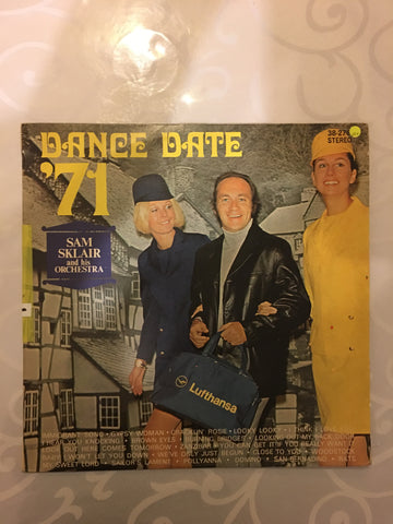 Dance Date '71 - Sam Sklair and His Orchestra - Vinyl LP Record - Opened  - Very-Good+ Quality (VG+)