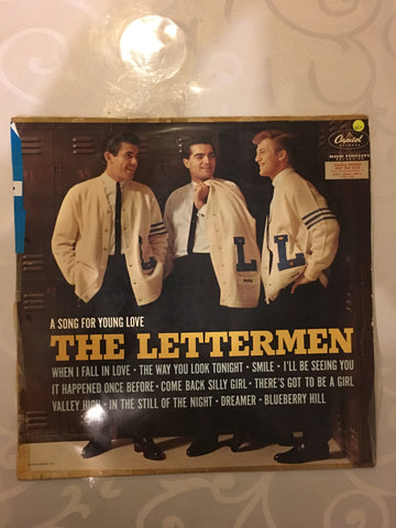 The Lettermen - A Song For Young Love - Vinyl LP Record - Opened  - Very-Good+ Quality (VG+)