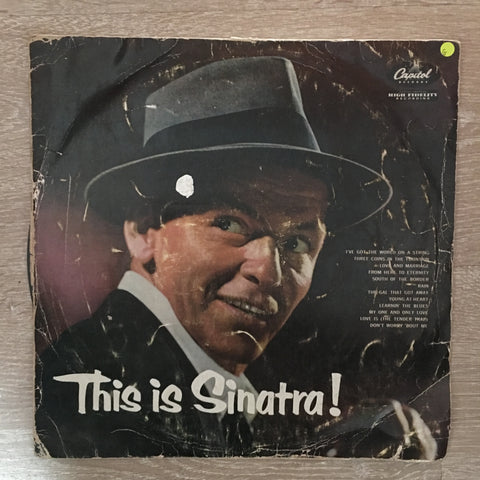 Frank Sinatra - This Is Sinatra - Vinyl LP Record - Opened  - Good Quality (G)