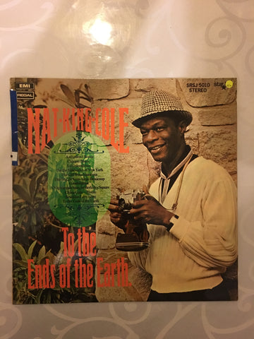Nat King Cole -To The Ends Of The Earth - Vinyl LP Record - Opened  - Very-Good+ Quality (VG+)