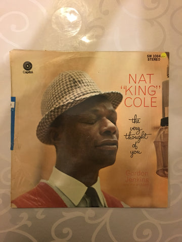 Nat King Cole - The Very Thought Of You - Vinyl LP Record - Opened  - Very-Good+ Quality (VG+)
