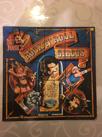 Big John's Rock and Roll Circus - Vinyl LP Record - Opened  - Very-Good+ Quality (VG+)