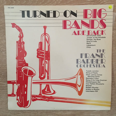Frank Barber Orchestra ‎– Turned On Big Bands - Vinyl LP Record - Opened  - Very-Good+ Quality (VG+)