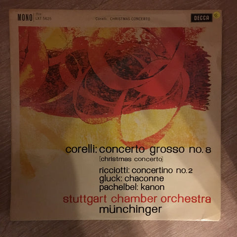 Corelli ‎– Concerto Grosso No.8 [Christmas Concerto] - Vinyl LP Record - Opened  - Very-Good+ Quality (VG+)