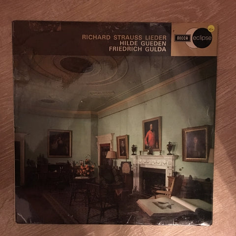 Richard Strauss, Hilde Gueden, Friedrich Gulda ‎– Richard Strauss Lieder - Vinyl LP Record - Opened  - Very-Good+ Quality (VG+) - C-Plan Audio