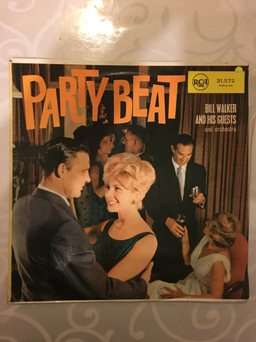 Bill Walker and His Guests and Orchestra - Party Beat - Vinyl LP Record - Opened  - Very-Good+ Quality (VG+)