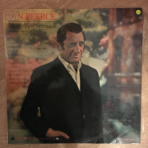 Jan Peerce ‎– Neapolitan Serenade - Vinyl LP Record - Opened  - Very-Good- Quality (VG-) - C-Plan Audio