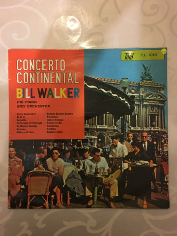 Bill Walker and His Piano and Orchestra - Concerto International - Vinyl LP Record - Opened  - Very-Good+ Quality (VG+)