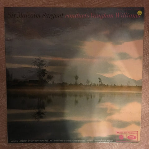 Sir Malcolm Sargent Conducts Vaughan Williams - Vinyl LP Record - Opened  - Very-Good+ Quality (VG+) - C-Plan Audio