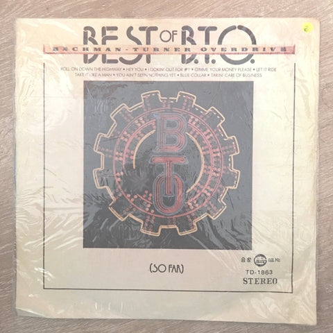 Best Of BTO - Bachmann Turner Overdrive - Vinyl LP Record - Opened  - Very-Good- Quality (VG-)