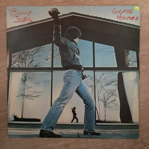 Billy Joel - Glasses Houses  - Vinyl LP - Opened  - Very-Good+ Quality (VG+)