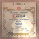 Camelot - Richard Burton, Julie Andrews  - Vinyl LP Record - Opened  - Very-Good Quality (VG) - C-Plan Audio