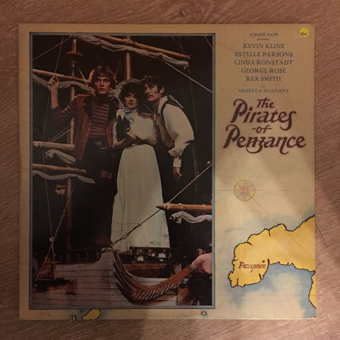 Gilbert & Sullivan's  - The Pirates Of Penzance - Broadway Cast ‎– Vinyl LP Record - Opened  - Very-Good+ Quality (VG+) - C-Plan Audio