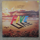 Sky - Sky 5 (Five) Live - Double Vinyl LP - Opened  - Very-Good+ Quality (VG+) - C-Plan Audio